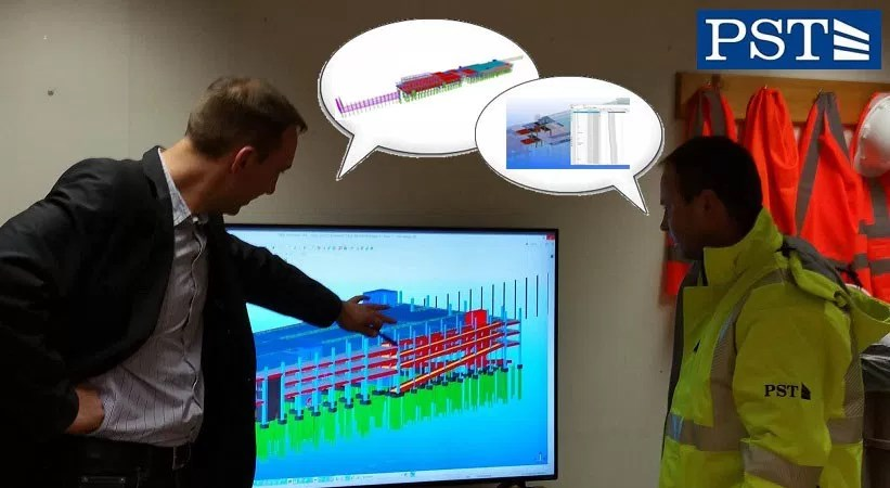 Pirmą kartą PST statybos projekte – keturmatis modelis