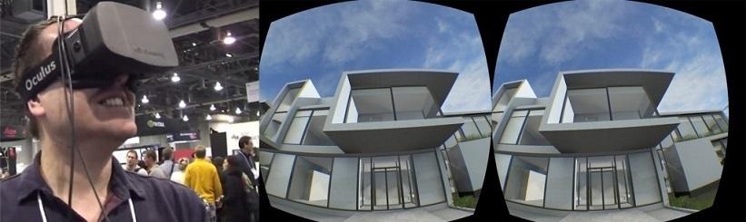 Trimatė vizualizacija. Oculus Rift