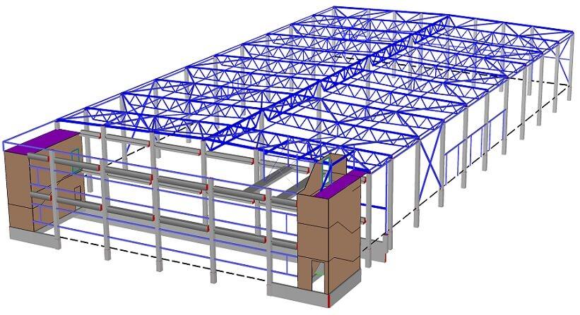 Dlubal RFEM konstrukcijų projektavimo įranga