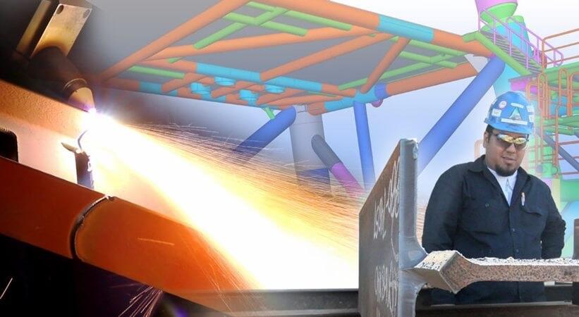Kaip BIM technologijos gali pagerinti metalo konstrukciju gamybos versla. Tekla programinė įranga