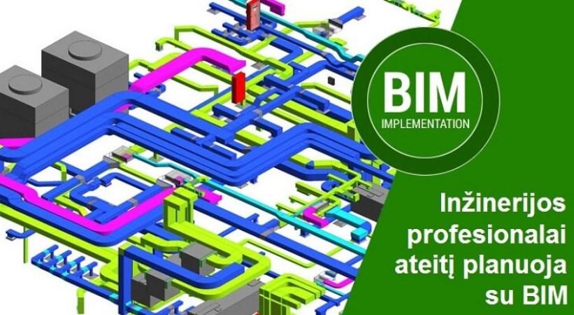 Inžinerijos profesionalai ateitį planuoja su BIM
