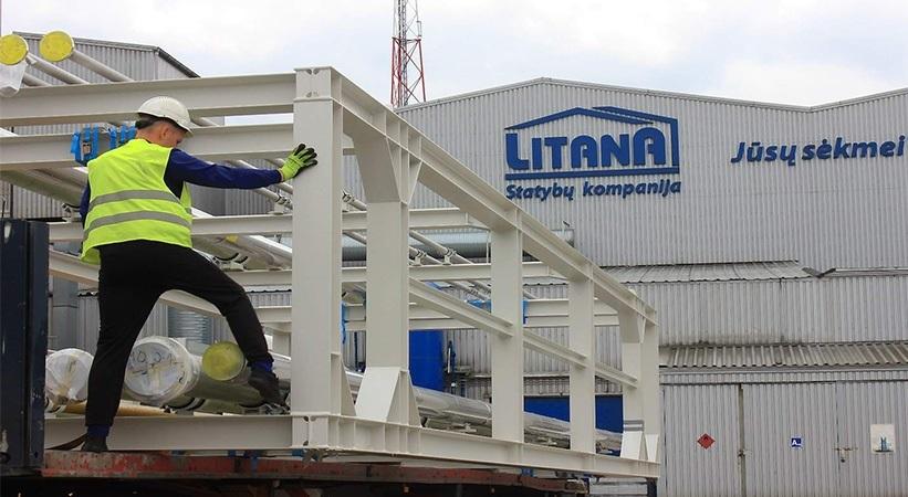 """UAB """"Litana ir Ko"""" verslo proveržis statybų rinkoje"""