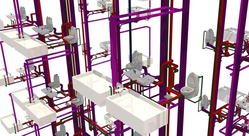 Greitesnis ir patogesnis inžinerinių sistemų projektavimas 3D aplinkoje