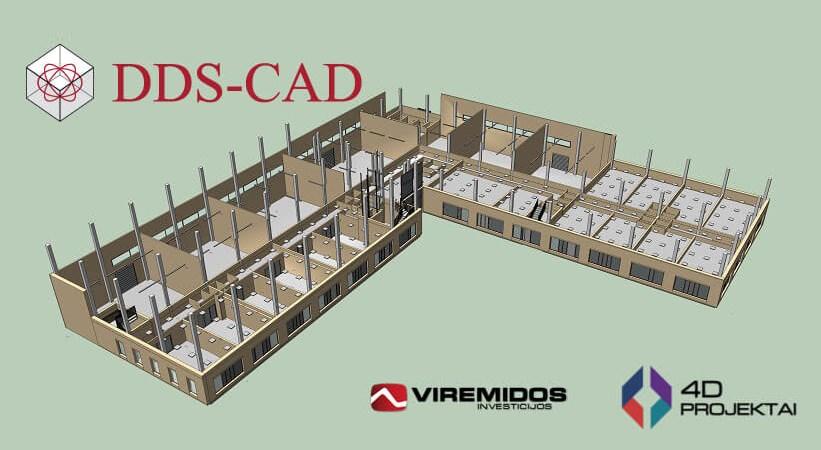 Inžinerinių BIM sprendimų pionieriai Lietuvoje dirba su DDS-CAD