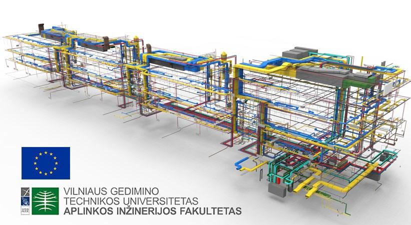 Inžinerinių sistemų (ŠVOK, VN) projektavimas pagal EN normas