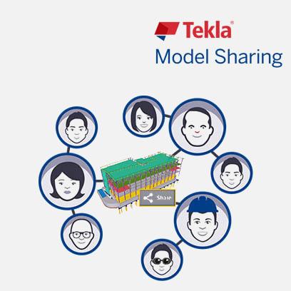 Tekla model sharing intelligent bim solutions software