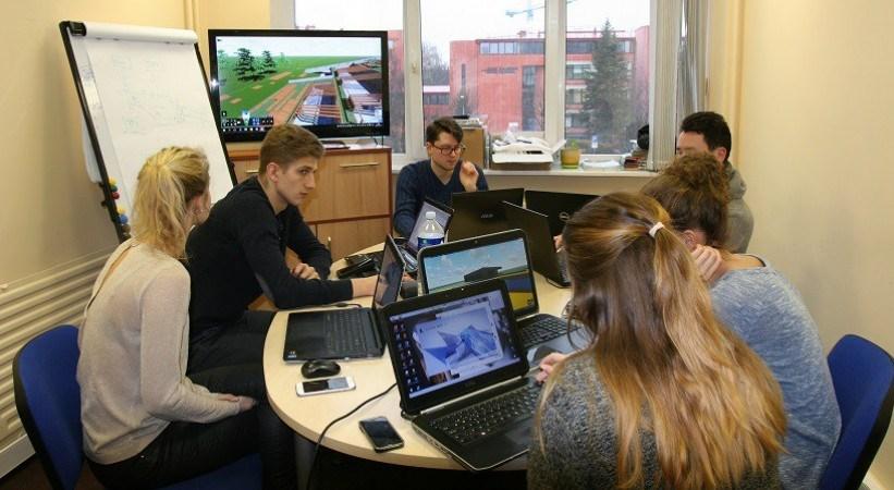 Skaitmeninis projektavimas ir integruotas Open BIM procesas studentų akimis