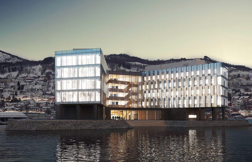 """Statoil"" biurų pastatas Norvegijoje"