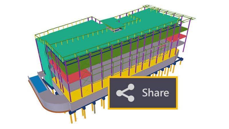 Programinė įranga Tekla Model Sharing