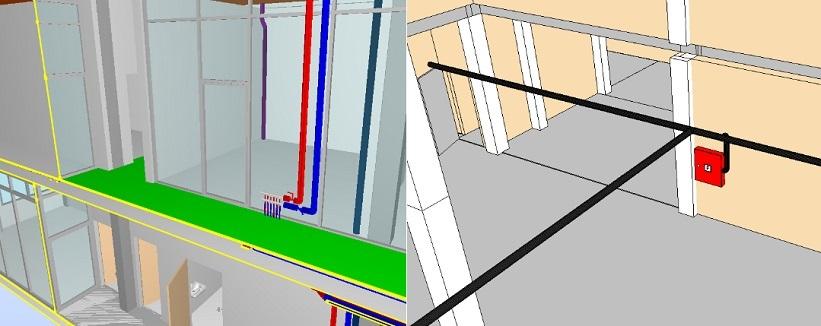Pilotinis Conresta BIM projektas – BIM taikymas statybose atsiperka. BIM modelis - inžinerija