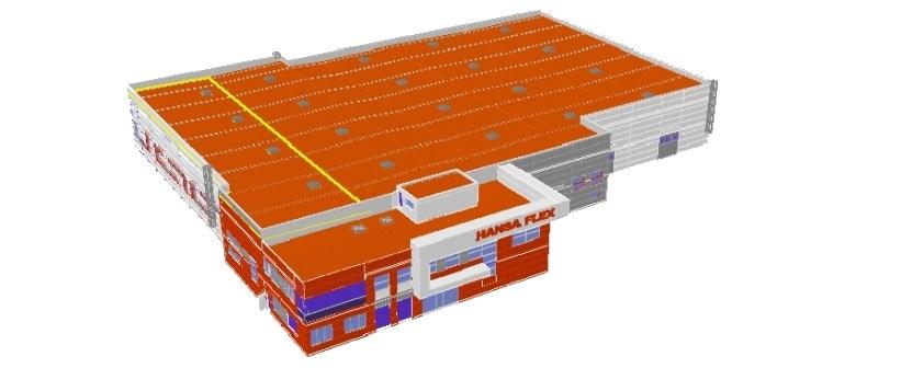 Pilotinis Conresta BIM projektas – BIM taikymas statybose atsiperka. BIM modelis