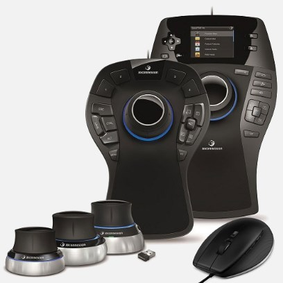 3Dconnexion's SpaceMouse® Šeima