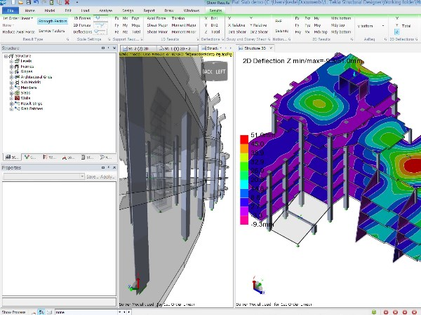 Software Tekla structural designer