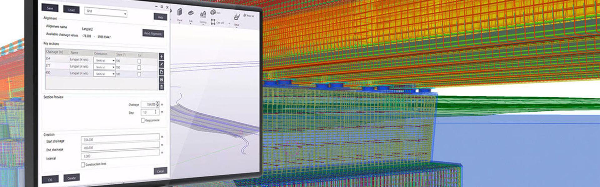 "Tekla webinar: ""Tekla Structures for Bridge designers – from road alignment to rebar detailing"""