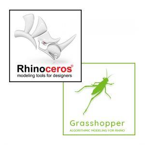 Rhino Grasshopper 3D programinė įranga